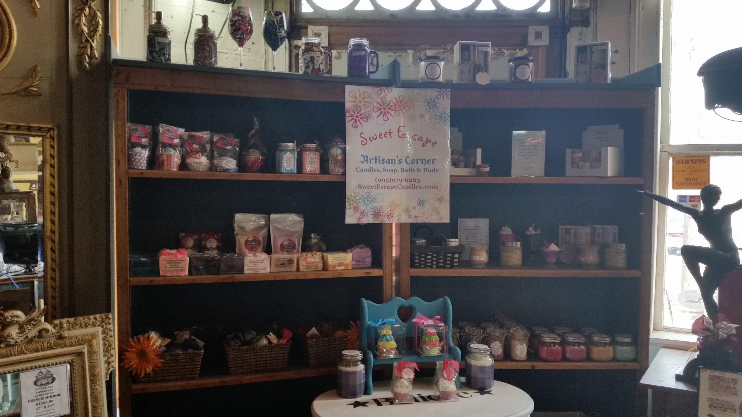 Sweet Escape Candles & Gift Shop