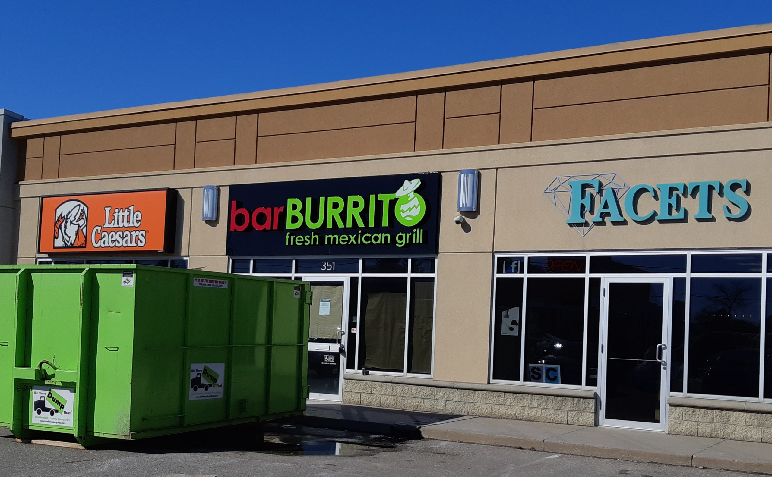 Bar Burrito – Currently under construction.  Coming Soon!